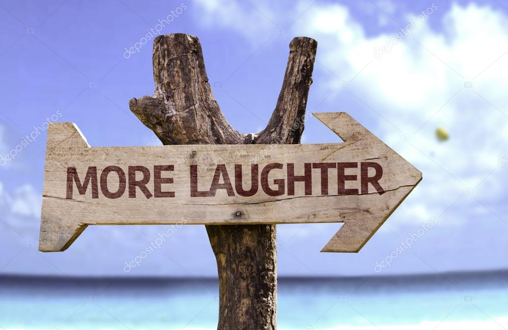 It all starts with a laugh